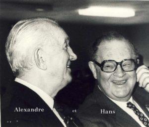 Alexandre Chappé und Hans Winkel