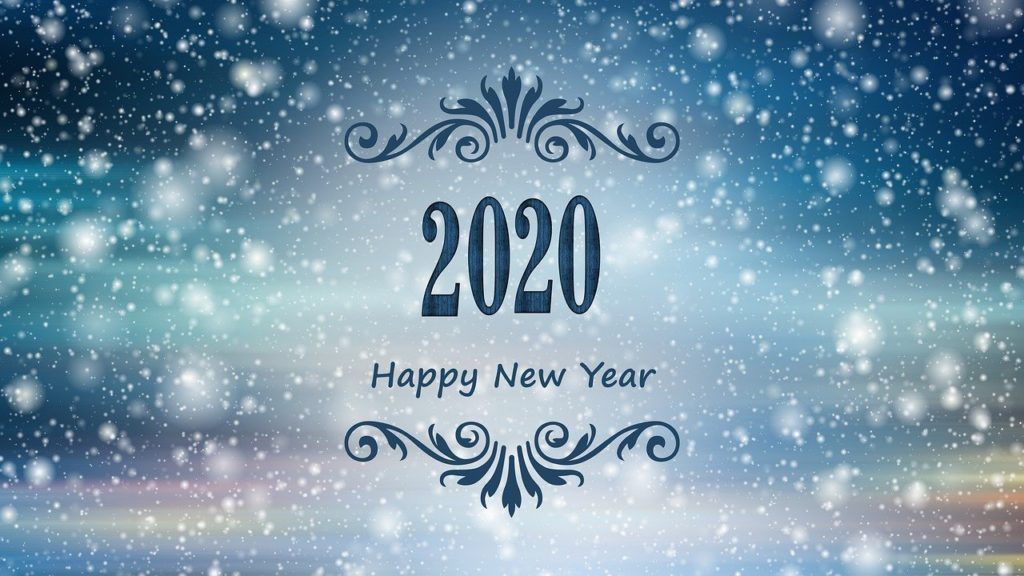 Frohes neues Jahr 2020, Quelle: addesia, pixabay.com/de